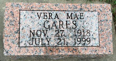 GARES, VERA MAE - Van Buren County, Iowa | VERA MAE GARES