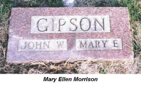 GIPSON, JOHN W. & MARY E. - Van Buren County, Iowa | JOHN W. & MARY E. GIPSON
