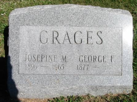GRAGES, JOSEPINE M. - Van Buren County, Iowa | JOSEPINE M. GRAGES