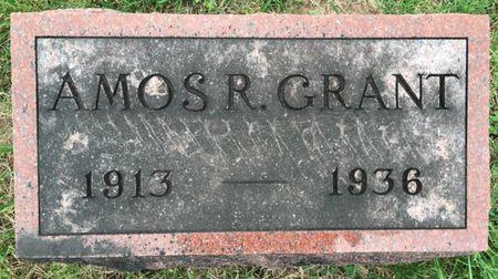 GRANT, AMOS R - Van Buren County, Iowa | AMOS R GRANT