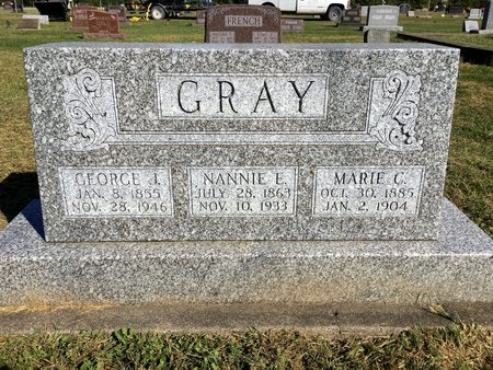 LEWIS GRAY, NANNIE E - Van Buren County, Iowa | NANNIE E LEWIS GRAY