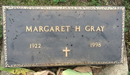 GRAY, MARGARET H - Van Buren County, Iowa | MARGARET H GRAY