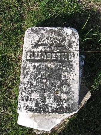 GREEN, ELIZABETH B. - Van Buren County, Iowa | ELIZABETH B. GREEN