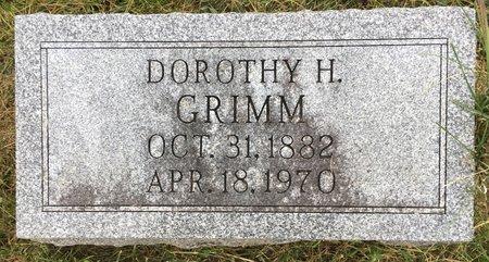 GRIMM, DOROTHY H - Van Buren County, Iowa | DOROTHY H GRIMM