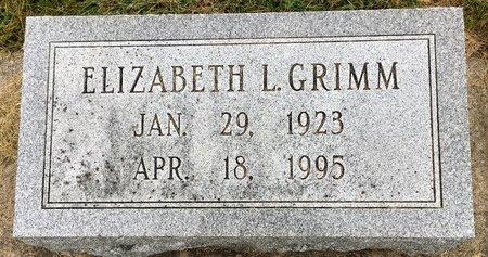 GRIMM GRIMM, ELIZABETH L - Van Buren County, Iowa | ELIZABETH L GRIMM GRIMM