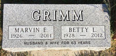 GRIMM, MARVIN E - Van Buren County, Iowa | MARVIN E GRIMM
