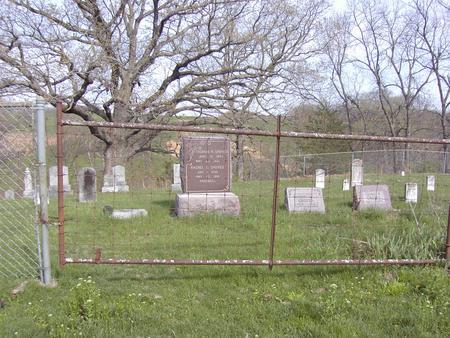 GROVES A.K.A. FERGUSON, CEMETERY - Van Buren County, Iowa | CEMETERY GROVES A.K.A. FERGUSON