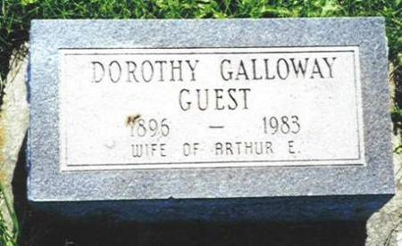 GUEST, DOROTHY GALLOWAY - Van Buren County, Iowa | DOROTHY GALLOWAY GUEST