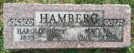 HAMBERG, MARY M - Van Buren County, Iowa | MARY M HAMBERG