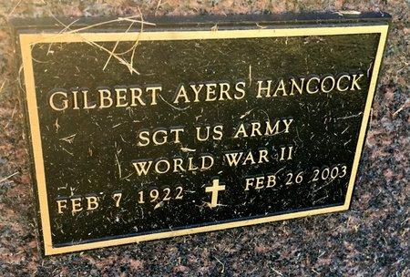 HANCOCK, GILBERT AYERS - Van Buren County, Iowa | GILBERT AYERS HANCOCK