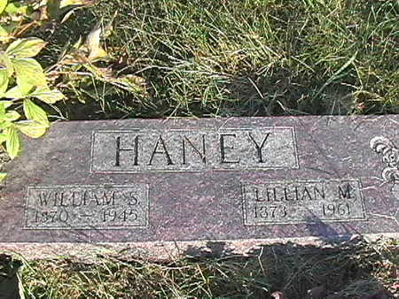 HANEY, LILLIAN MAY - Van Buren County, Iowa | LILLIAN MAY HANEY