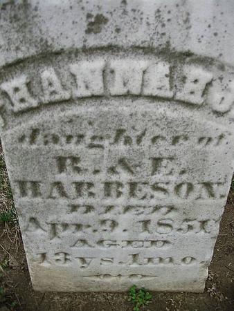 HARBESON, HANNAH - Van Buren County, Iowa | HANNAH HARBESON