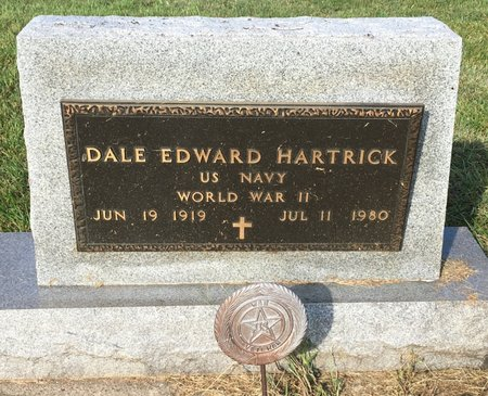 HARTRICK, DALE EDWARD - Van Buren County, Iowa | DALE EDWARD HARTRICK