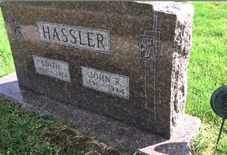 HASSLER, EDITH - Van Buren County, Iowa | EDITH HASSLER