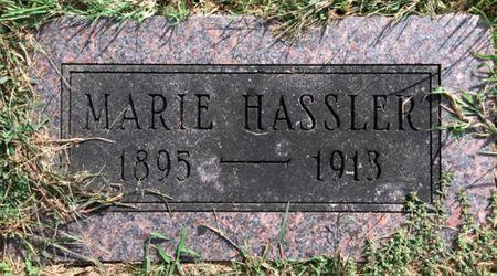 HASSLER, MARIE - Van Buren County, Iowa | MARIE HASSLER