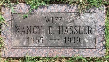 MORELAND HASSLER, NANCY ELLEN - Van Buren County, Iowa | NANCY ELLEN MORELAND HASSLER