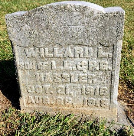 HASSLER, WILLARD L - Van Buren County, Iowa | WILLARD L HASSLER
