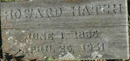 HATCH, HOWARD - Van Buren County, Iowa | HOWARD HATCH