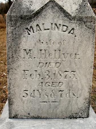 HELLYER, MALINDA - Van Buren County, Iowa   MALINDA HELLYER