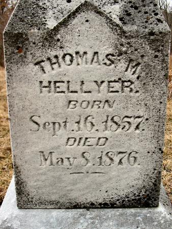 HELLYER, THOMAS M. - Van Buren County, Iowa | THOMAS M. HELLYER