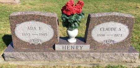 PECHSTEIN HENRY, ADA E - Van Buren County, Iowa | ADA E PECHSTEIN HENRY