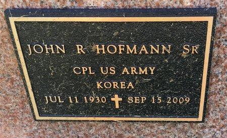 HOFMANN, JOHN R SR - Van Buren County, Iowa | JOHN R SR HOFMANN