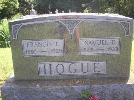 HOGUE, FRANCIS E - Van Buren County, Iowa | FRANCIS E HOGUE