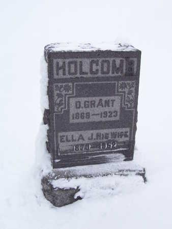 HOLCOMB, DANIEL GRANT - Van Buren County, Iowa   DANIEL GRANT HOLCOMB
