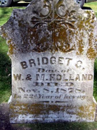 HOLLAND, BRIDGET C. - Van Buren County, Iowa | BRIDGET C. HOLLAND