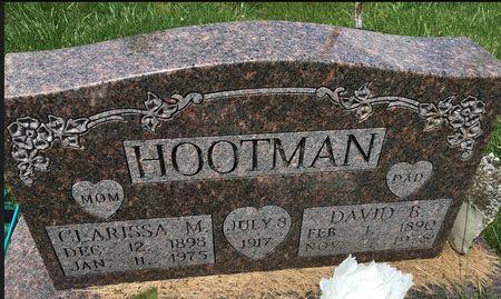 HOOTMAN, CLARISSA MAE - Van Buren County, Iowa | CLARISSA MAE HOOTMAN