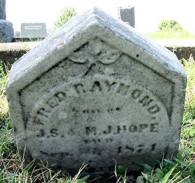 HOPE, FRED RAYMOND - Van Buren County, Iowa | FRED RAYMOND HOPE