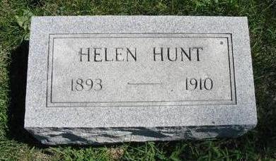 HOPE, HELEN HUNT - Van Buren County, Iowa   HELEN HUNT HOPE