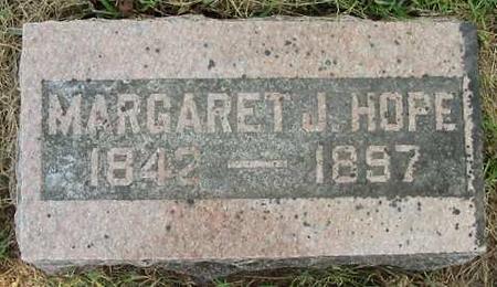 HOPE, MARGARET J. - Van Buren County, Iowa | MARGARET J. HOPE