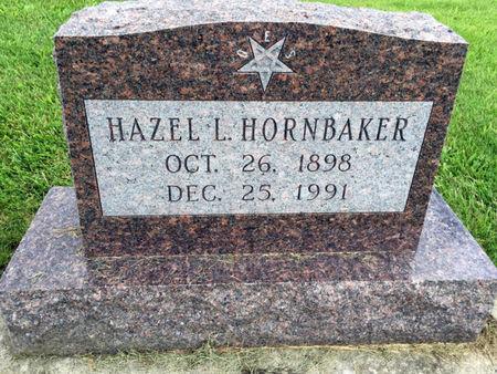 HORNBAKER, HAZEL L. - Van Buren County, Iowa   HAZEL L. HORNBAKER