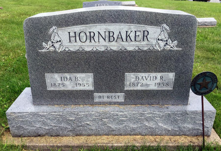 HORNBAKER, DAVID R. - Van Buren County, Iowa | DAVID R. HORNBAKER