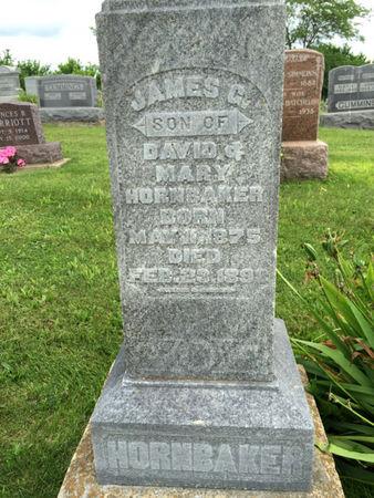 HORNBAKER, JAMES G. - Van Buren County, Iowa   JAMES G. HORNBAKER