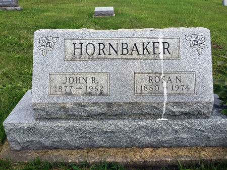 FRENCH HORNBAKER, ROSA N - Van Buren County, Iowa | ROSA N FRENCH HORNBAKER