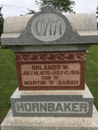 HORNBAKER, ORLANDO W. - Van Buren County, Iowa   ORLANDO W. HORNBAKER