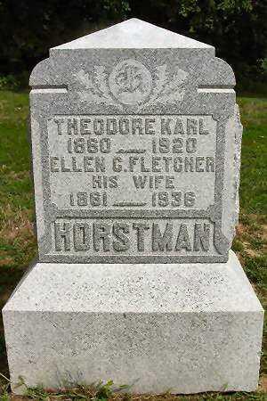 FLETCHER HORSTMAN, ELLEN C. - Van Buren County, Iowa | ELLEN C. FLETCHER HORSTMAN