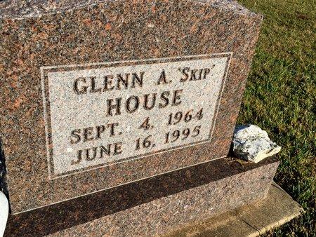 HOUSE, GLENN A