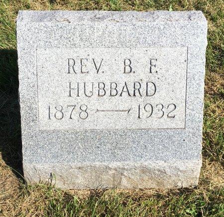 HUBBARD, REV. B. F. - Van Buren County, Iowa | REV. B. F. HUBBARD