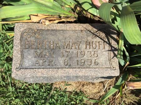 HUFF, BERTHA MAY - Van Buren County, Iowa | BERTHA MAY HUFF