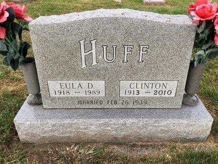 MARMION HUFF, EULA D - Van Buren County, Iowa | EULA D MARMION HUFF