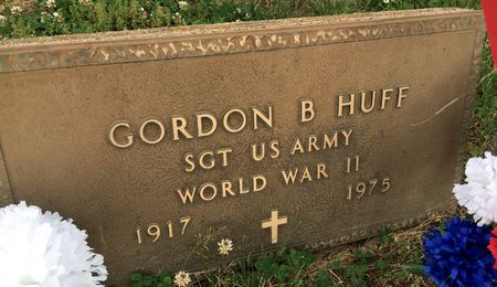 HUFF, GORDON B - Van Buren County, Iowa | GORDON B HUFF