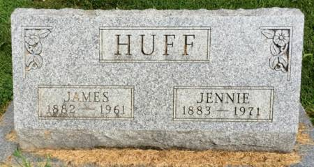 HUNTER HUFF, JENNIE - Van Buren County, Iowa | JENNIE HUNTER HUFF