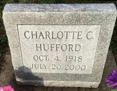 HUFFORD, CHARLOTTE C - Van Buren County, Iowa | CHARLOTTE C HUFFORD