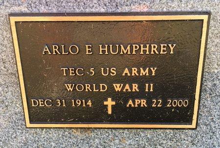 HUMPHREY, ARLO E - Van Buren County, Iowa | ARLO E HUMPHREY