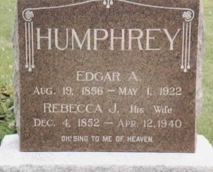 PRICE HUMPHREY, REBECCA J. - Van Buren County, Iowa | REBECCA J. PRICE HUMPHREY