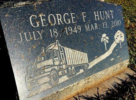 HUNT, GEORGE F - Van Buren County, Iowa | GEORGE F HUNT