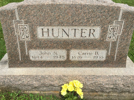 HUNTER, CARRIE B. - Van Buren County, Iowa | CARRIE B. HUNTER